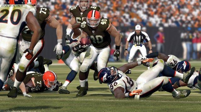 Madden NFL 12 screenshot