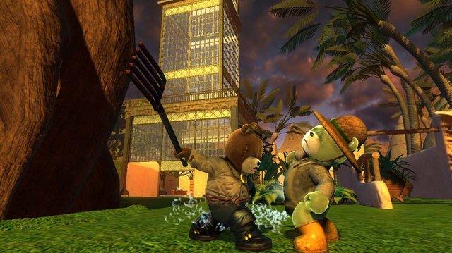 Naughty Bear Panic in Paradise screenshot