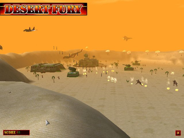 Desert Fury screenshot