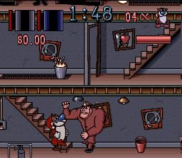 The Ren & Stimpy Show: Fire Dogs screenshot