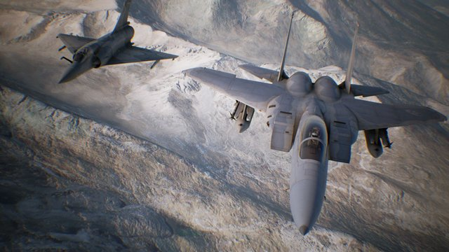 ACE COMBAT 7: SKIES UNKNOWN screenshot №1 preview