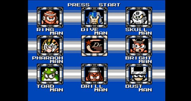 Mega Man 4 (1991) screenshot