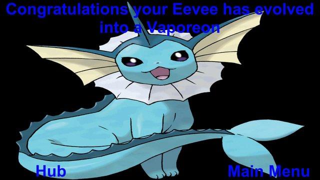 Eevee's Evolution Extravaganza screenshot