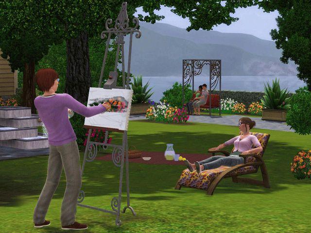 Sims 3: Каталог - Отдых на природе, The screenshot