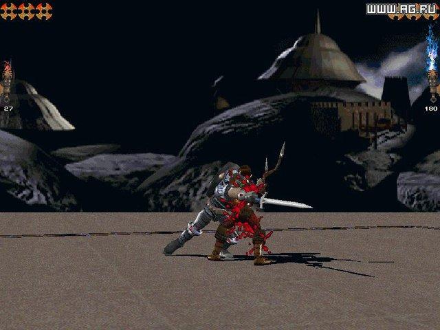 Iron & Blood: Warriors of Ravenloft screenshot