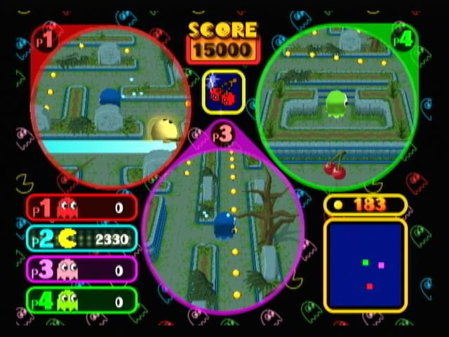 Pac-Man Vs. screenshot