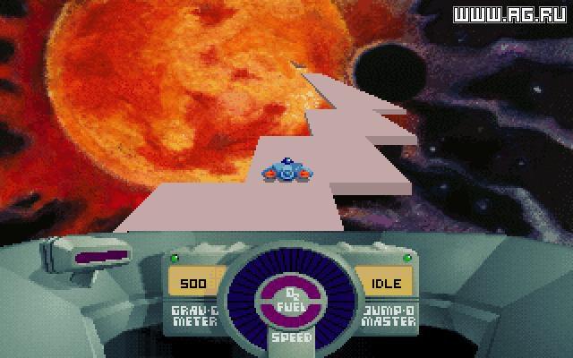 SkyRoads screenshot