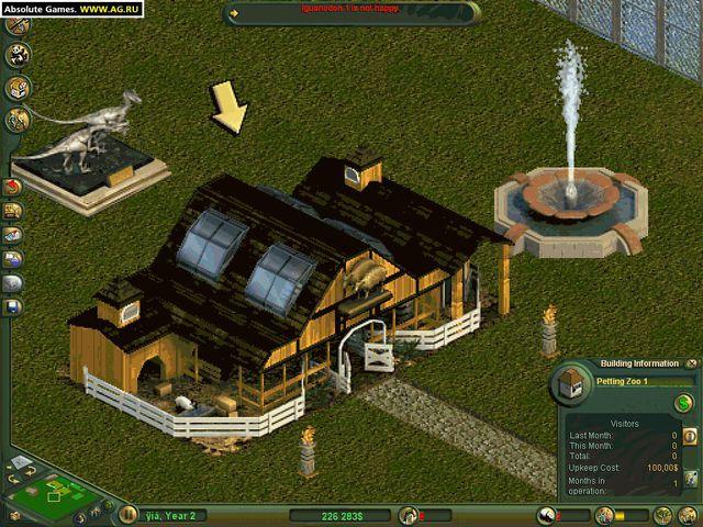 Zoo Tycoon: Dinosaur Digs screenshot