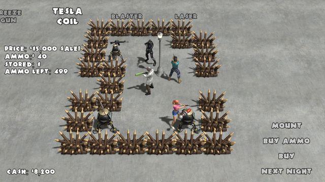 Yet Another Zombie Defense HD screenshot