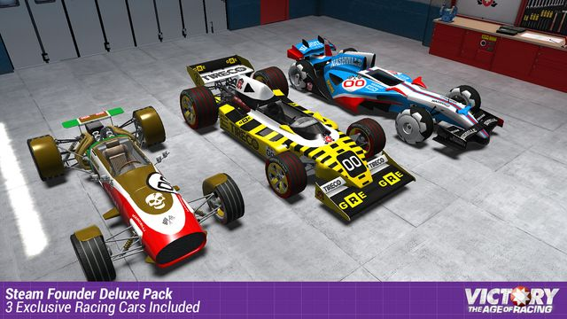 Victory: The Age of Racing screenshot