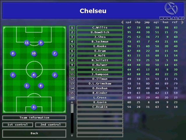 Andreas Osswald's Championship Soccer 2004-2005 Edition screenshot