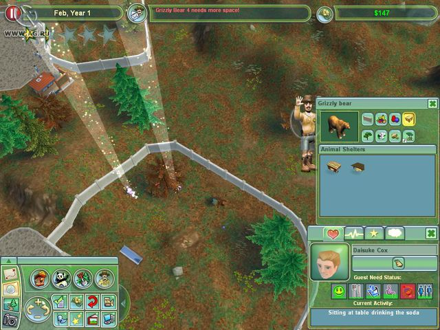 Zoo Tycoon 2 screenshot