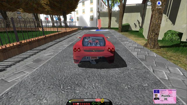Safety Driving Simulator: Car screenshot