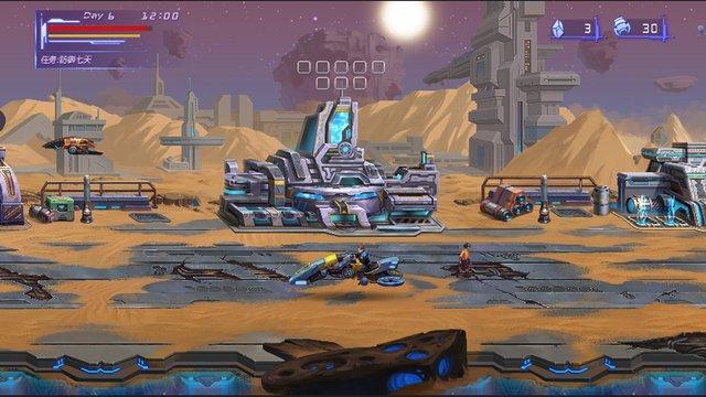 Alien Worms Invasion screenshot