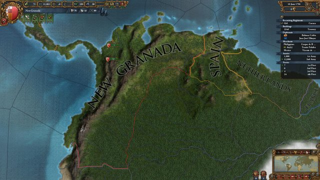 Europa Universalis IV: Conquest of Paradise screenshot