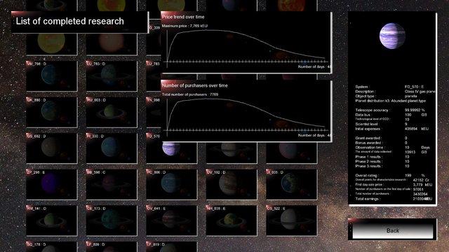 AstronTycoon screenshot