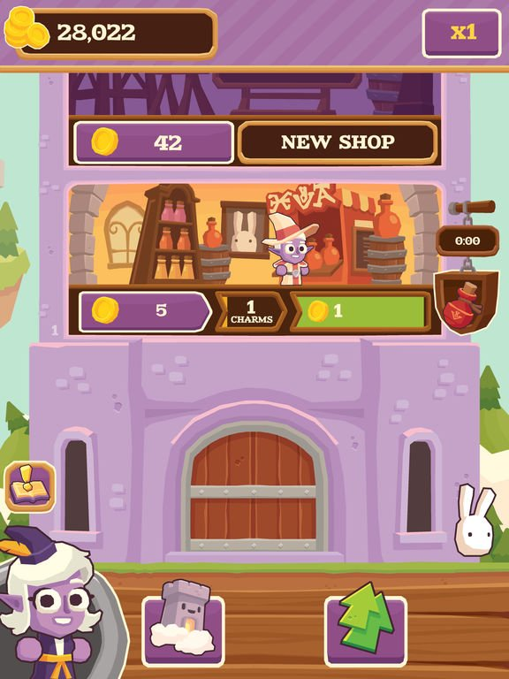 Charming Keep - Collectable Tower Tapper screenshot