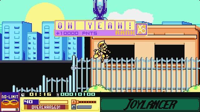 The Joylancer: Legendary Motor Knight screenshot