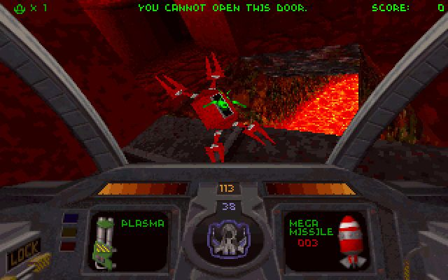 Descent (1996) screenshot
