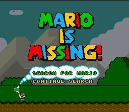 Mario Is Missing! screenshot