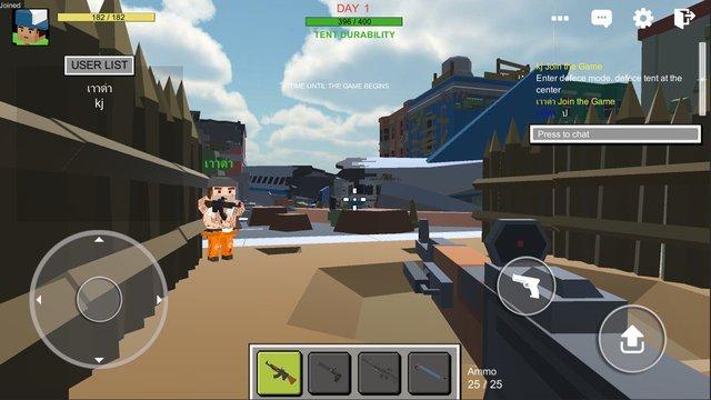 Zombie Town: Online screenshot