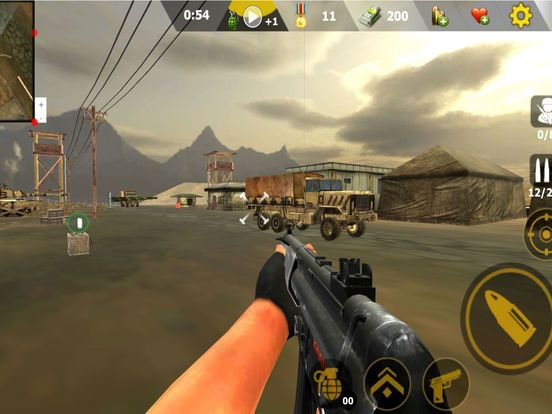 Modern Commando :Adventure War screenshot
