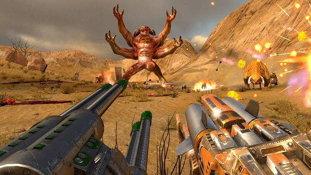 Serious Sam VR: The First Encounter screenshot