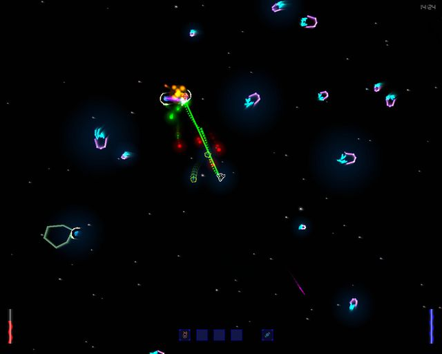 Space - The Return Of The Pixxelfrazzer screenshot