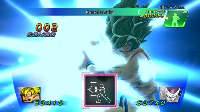 DBZ for Kinect screenshot