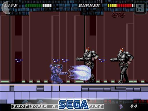 ESWAT: City Under Siege Classic screenshot