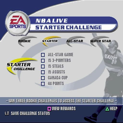 NBA Live 2002 screenshot
