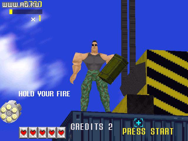 Virtua Cop (Virtua Squad) screenshot