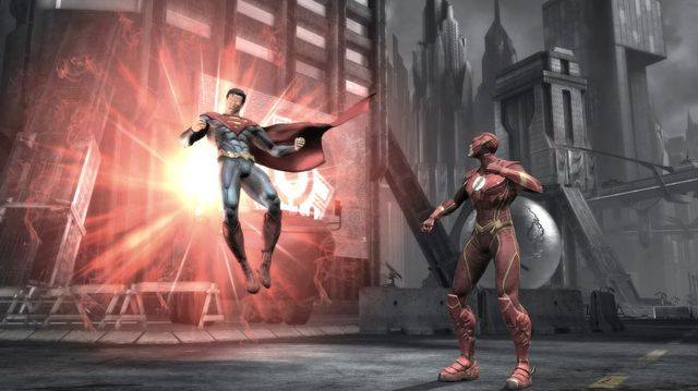 Injustice - видеоигра screenshot