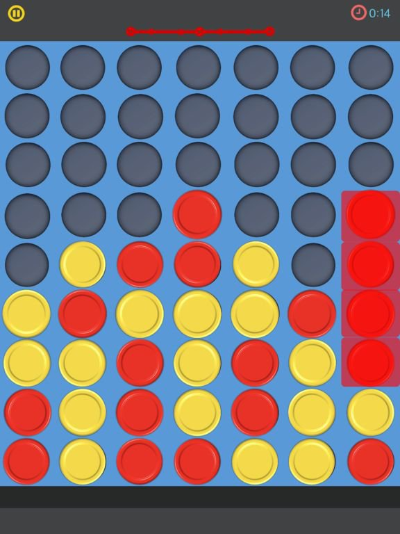 Connect 4. screenshot