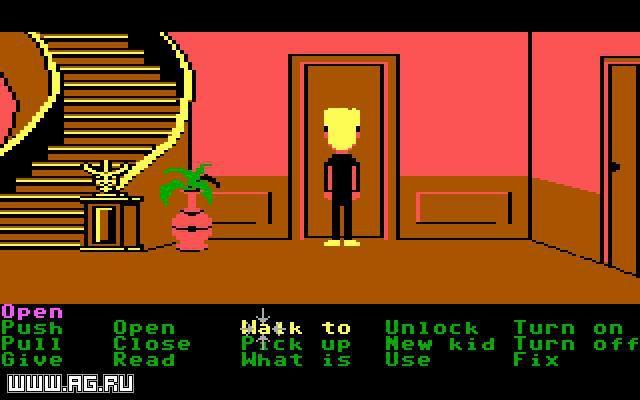 Maniac Mansion screenshot