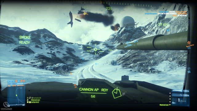 Battlefield 3: Armored Kill screenshot