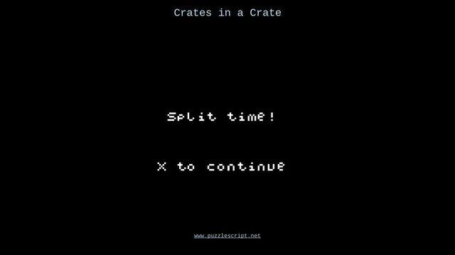Crates in a Crate screenshot