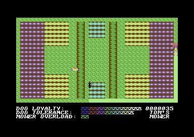 Hover Bovver (1983) screenshot