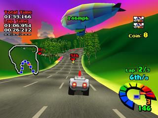 Motor Toon Grand Prix 2 screenshot