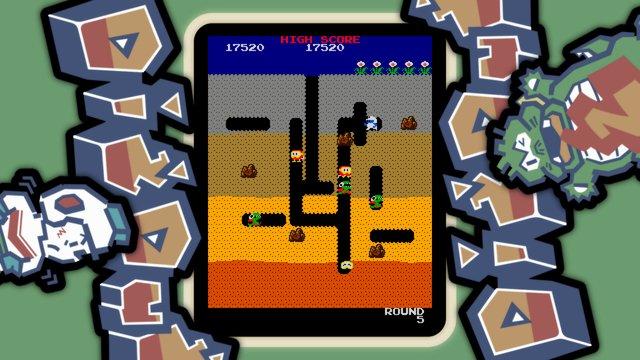 ARCADE GAME SERIES: DIG DUG screenshot