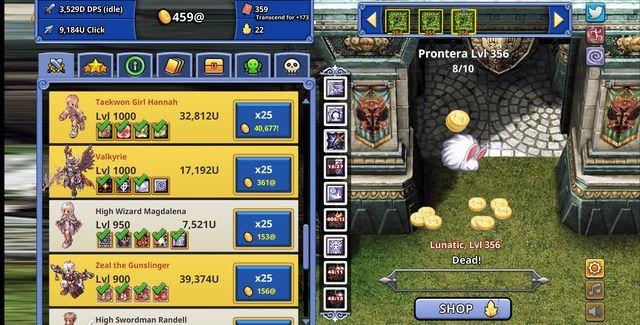 Ragnarok Clicker screenshot