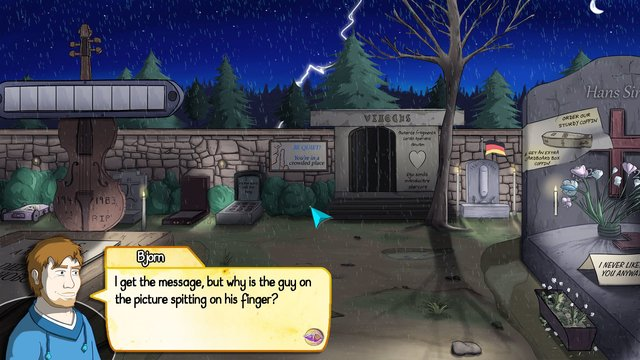 Demetrios - The BIG Cynical Adventure screenshot