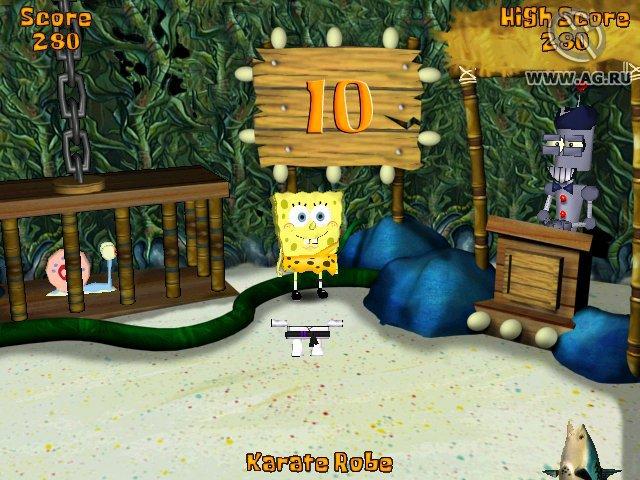 SpongeBob SquarePants: Battle for Bikini Bottom screenshot
