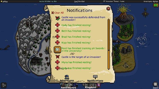 Adventurer Manager screenshot
