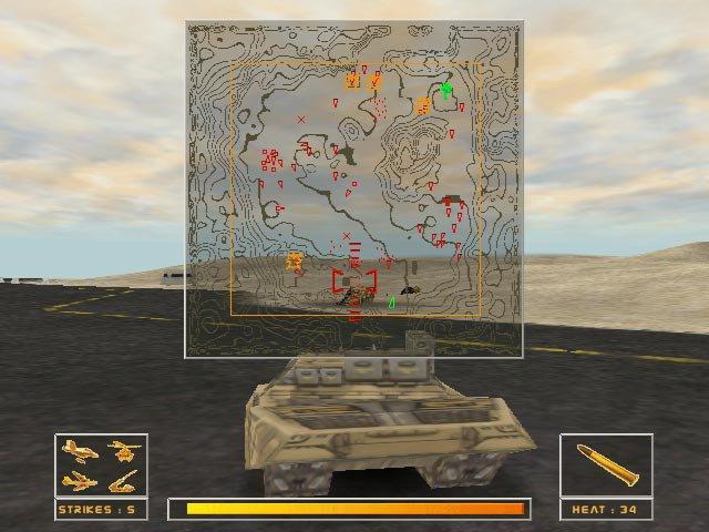 Gulf War: Operation Desert Hammer screenshot