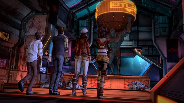 Tales from the Borderlands: Episode Two - Atlas Mugged screenshot