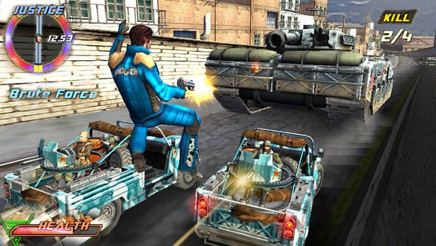 Pursuit Force Extreme Justice screenshot