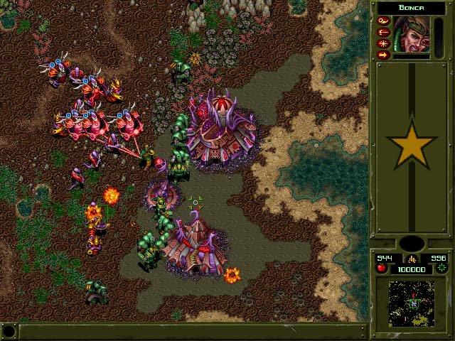 War Wind II: Human Onslaught screenshot