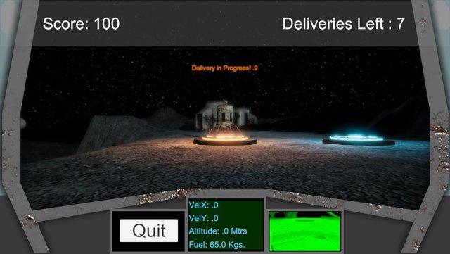 DeliveryLander screenshot