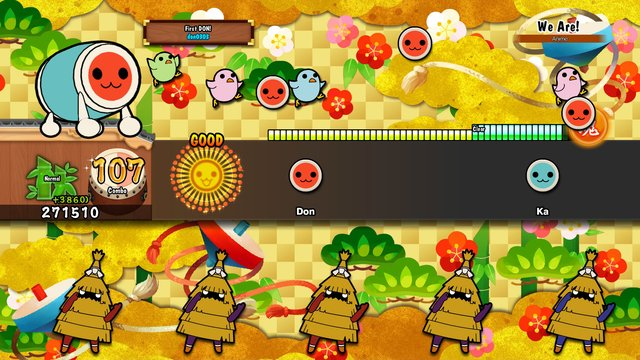 Taiko no Tatsujin: Drum Session! screenshot